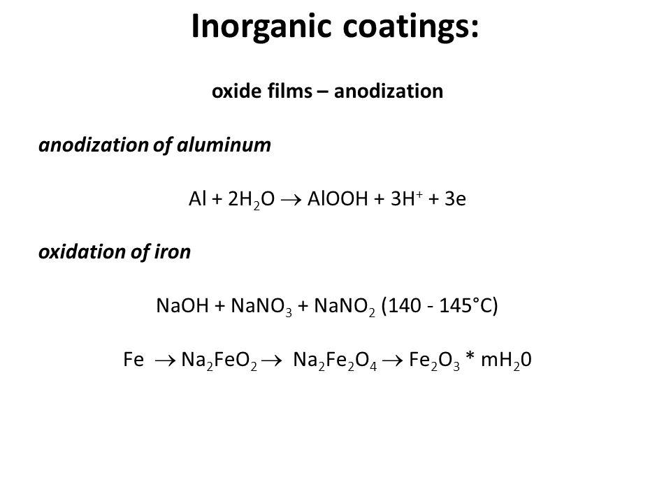 oxide films – anodization