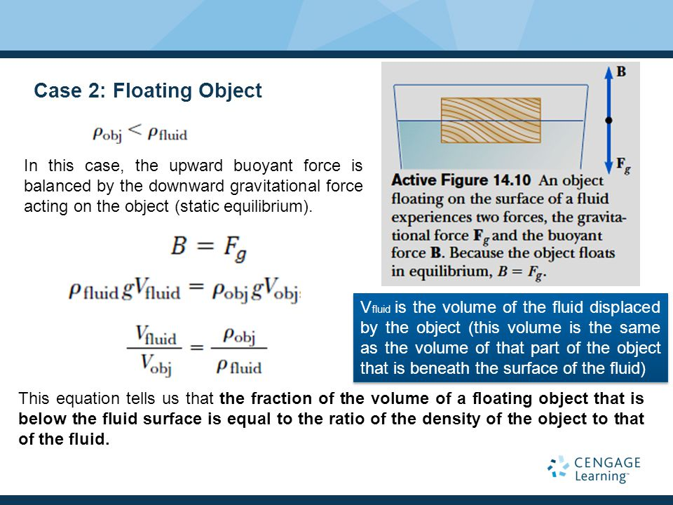 Case 2: Floating Object