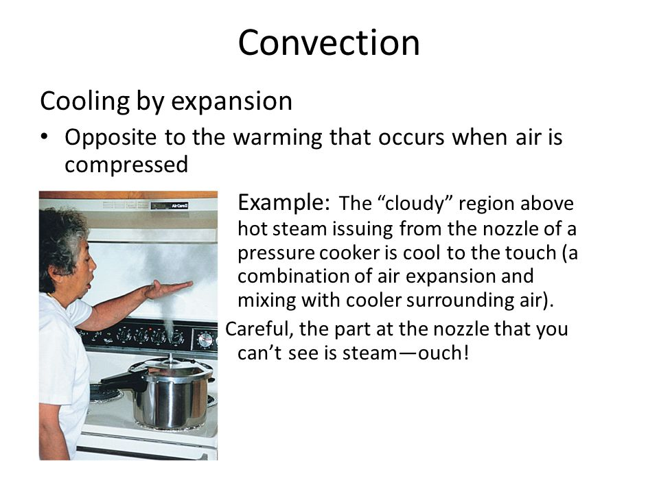 Convection Cooling by expansion