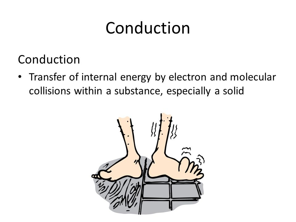 Conduction Conduction