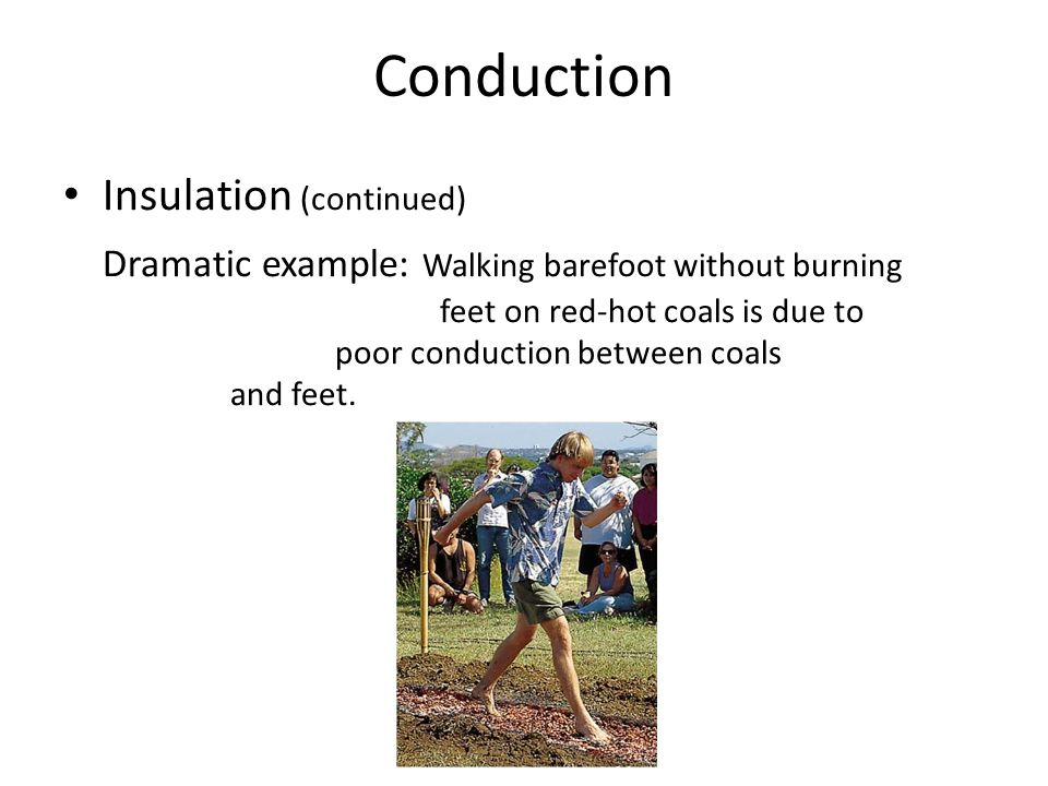 Conduction Insulation (continued)