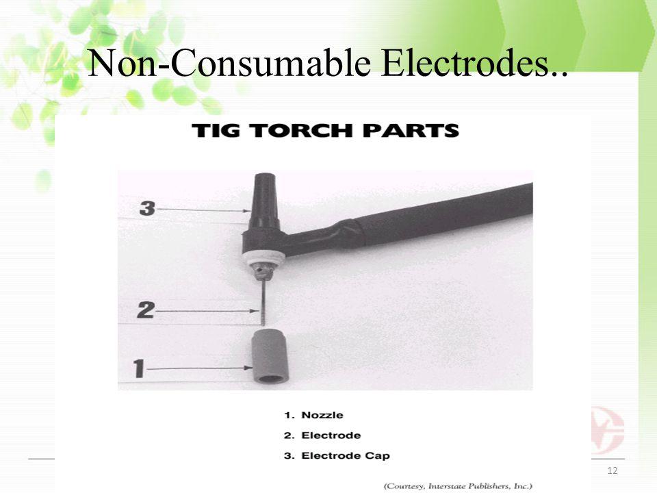Non-Consumable Electrodes..