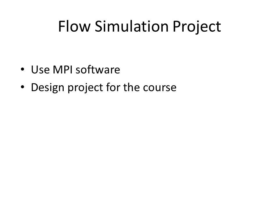 Flow Simulation Project