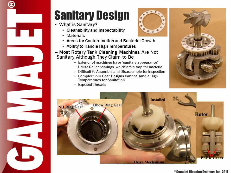 Sanitary Design What is Sanitary