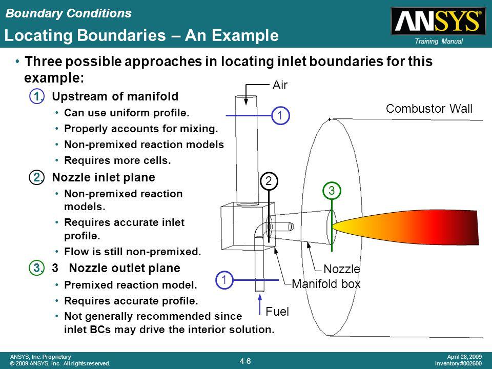 Locating Boundaries – An Example