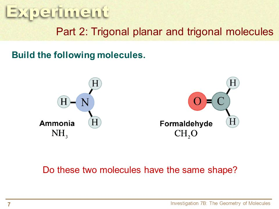 Do these two molecules have the same shape