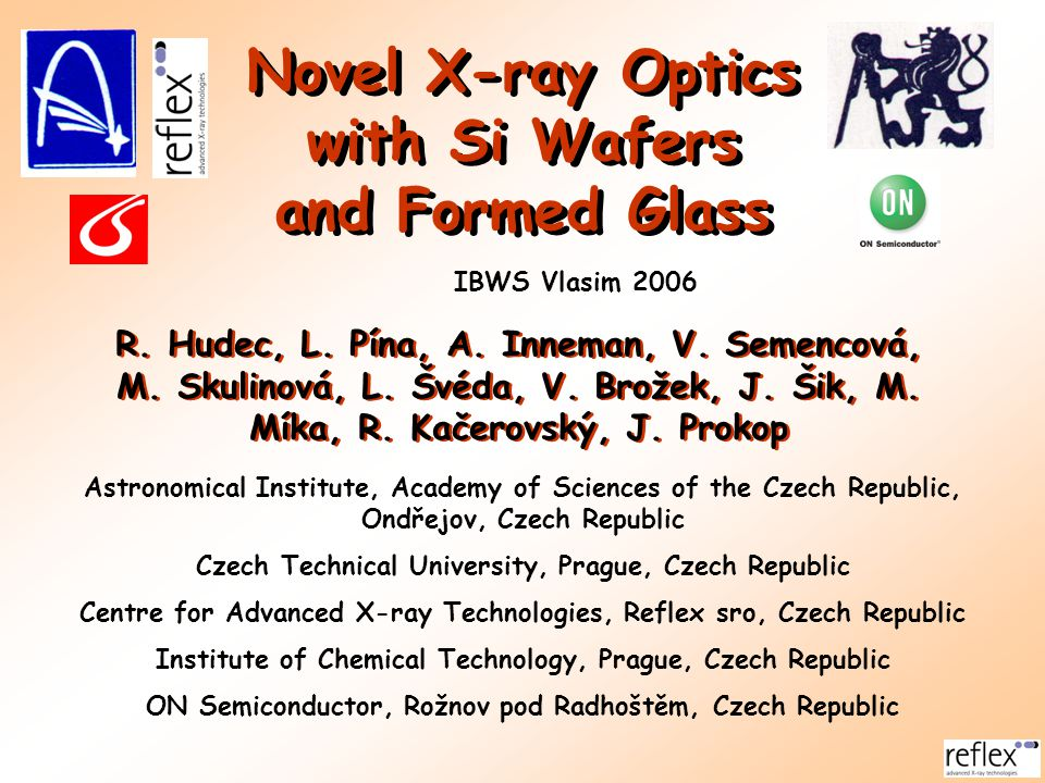 Novel X-ray Optics with Si Wafers and Formed Glass