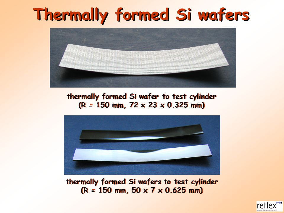 Thermally formed Si wafers