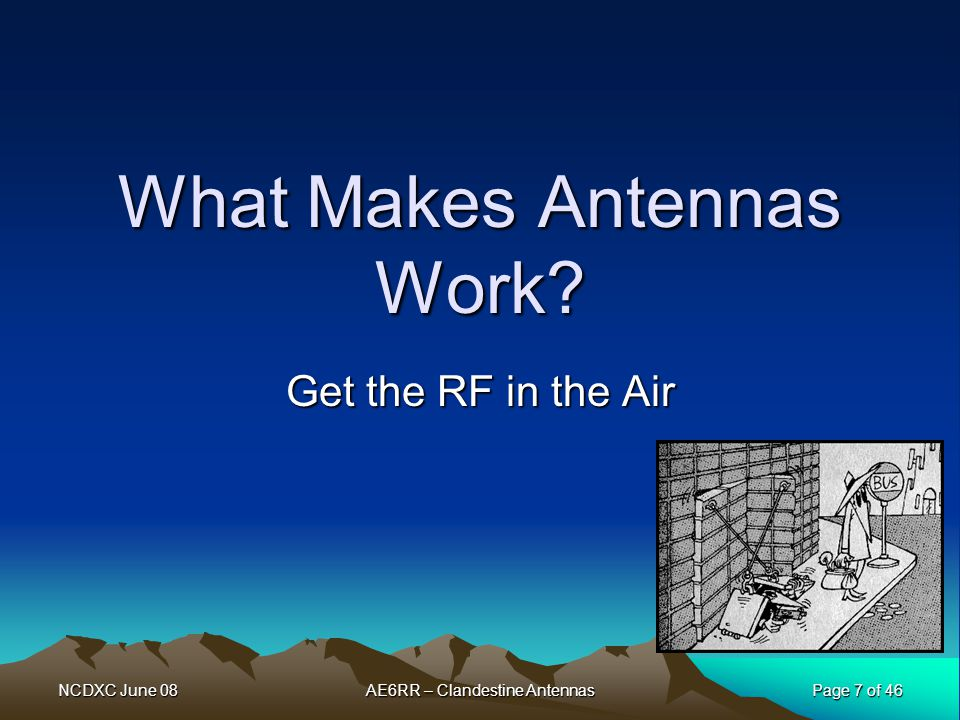 What Makes Antennas Work