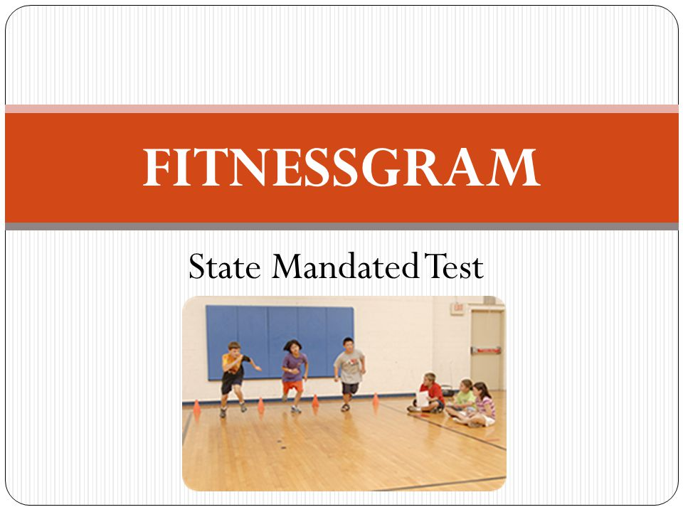 FITNESSGRAM State Mandated Test GOLF