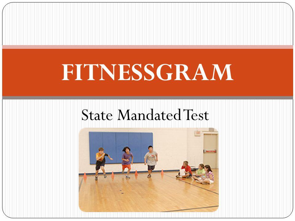 FITNESSGRAM State Mandated Test GOLF