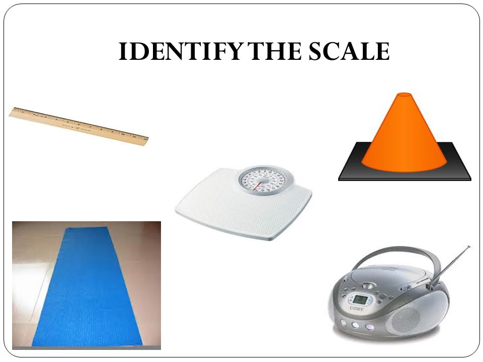 IDENTIFY THE SCALE