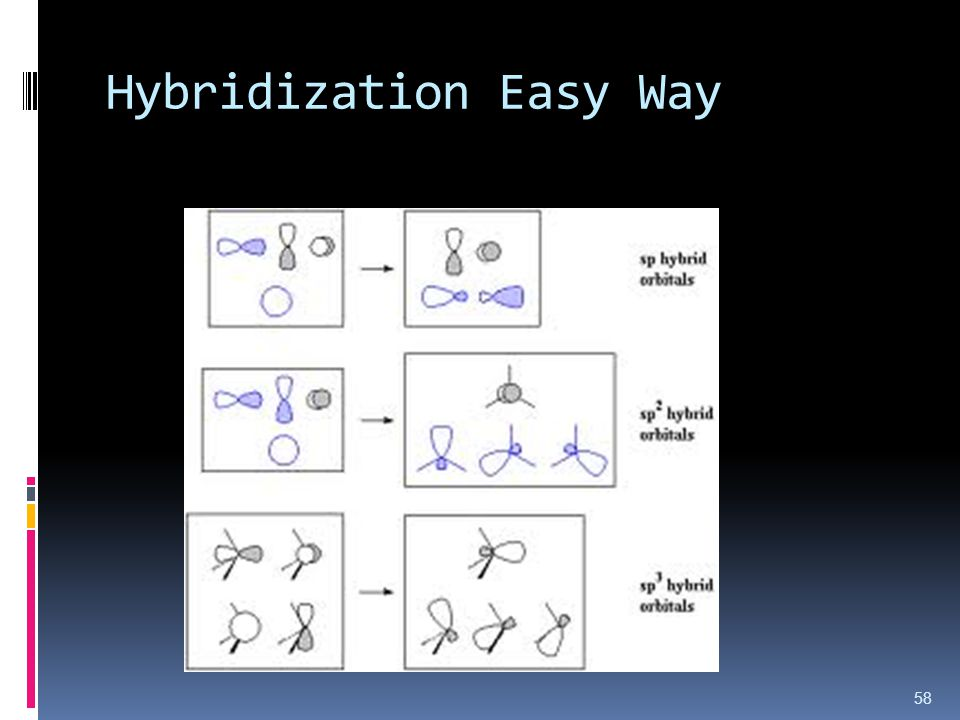 Hybridization Easy Way