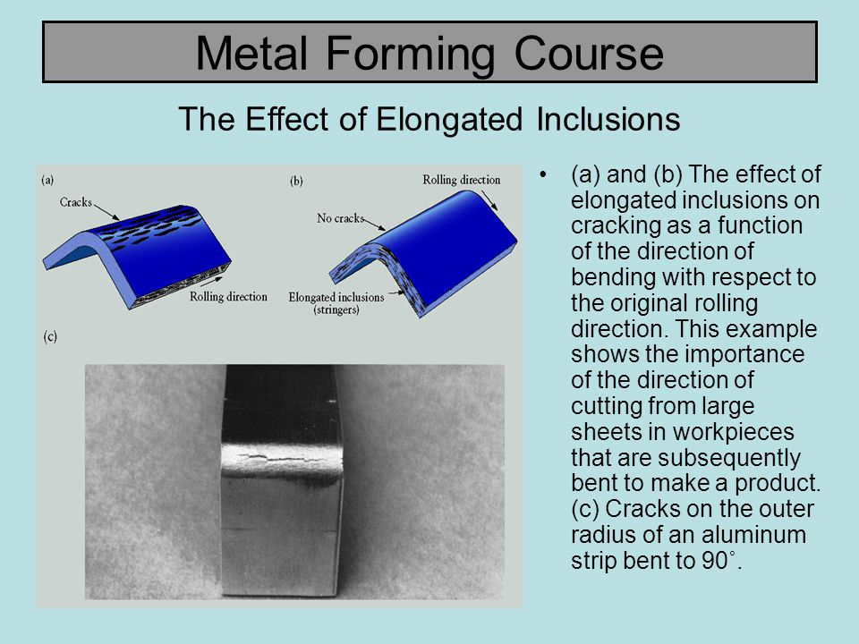The Effect of Elongated Inclusions