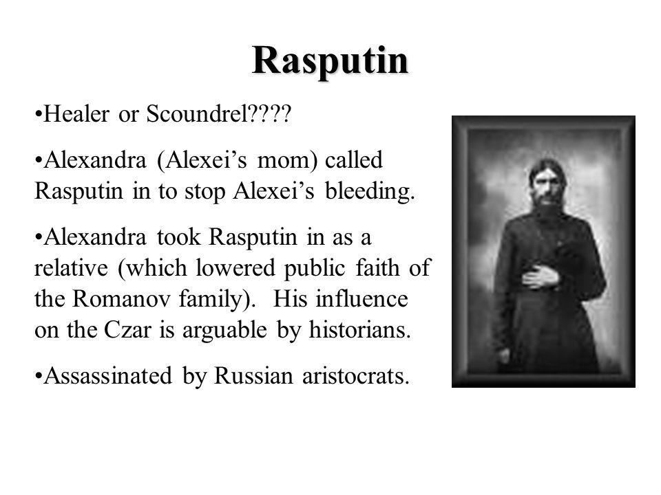 Rasputin Healer or Scoundrel