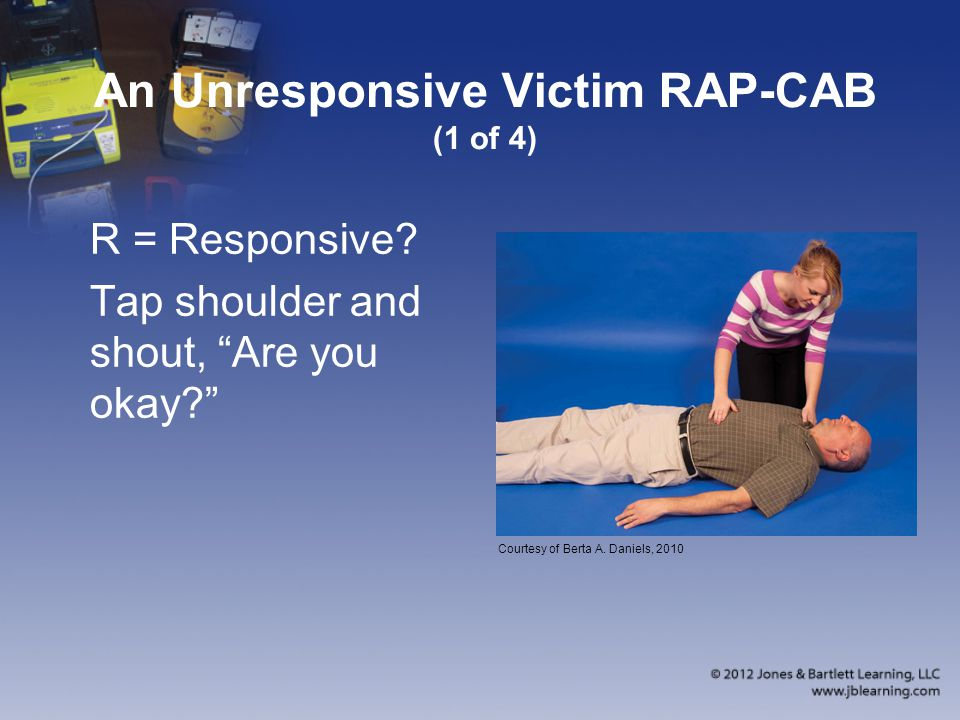 An Unresponsive Victim RAP-CAB (1 of 4)