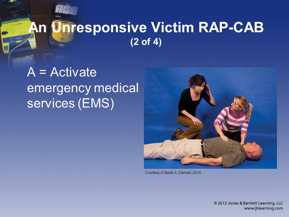 An Unresponsive Victim RAP-CAB (2 of 4)