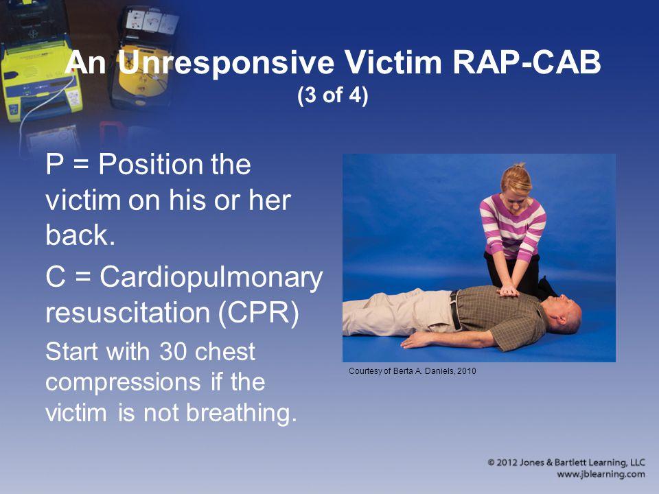 An Unresponsive Victim RAP-CAB (3 of 4)