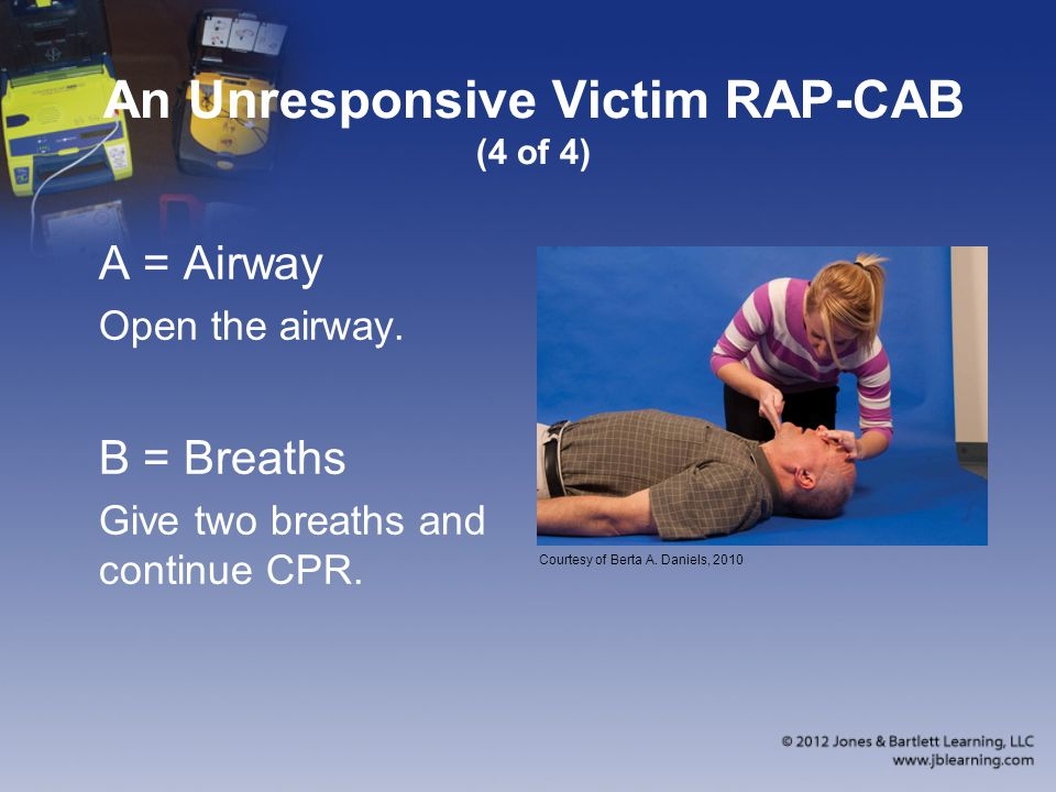 An Unresponsive Victim RAP-CAB (4 of 4)