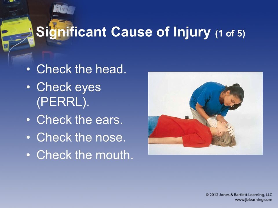 Significant Cause of Injury (1 of 5)