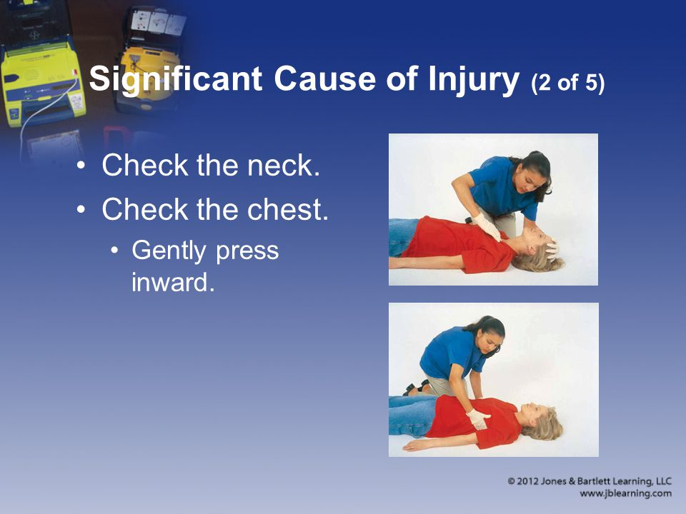 Significant Cause of Injury (2 of 5)