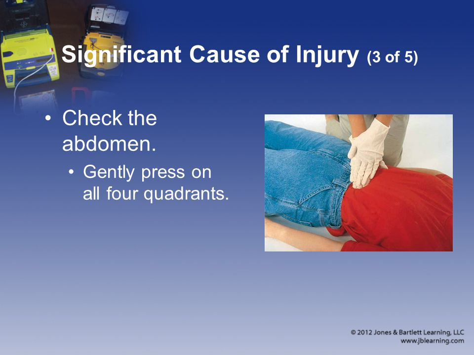 Significant Cause of Injury (3 of 5)
