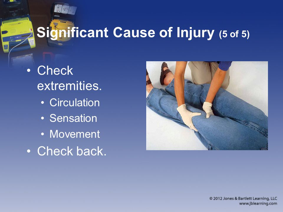 Significant Cause of Injury (5 of 5)