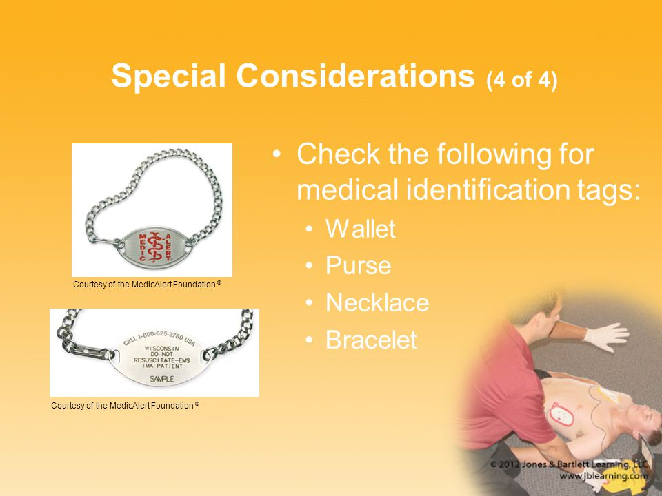 Special Considerations (4 of 4)