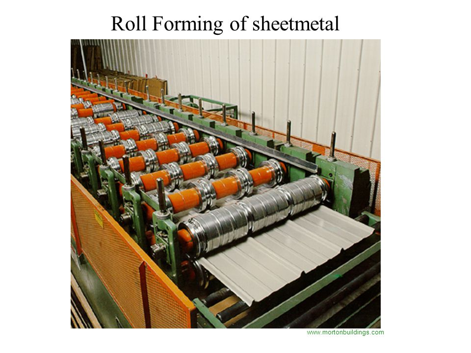 Roll Forming of sheetmetal