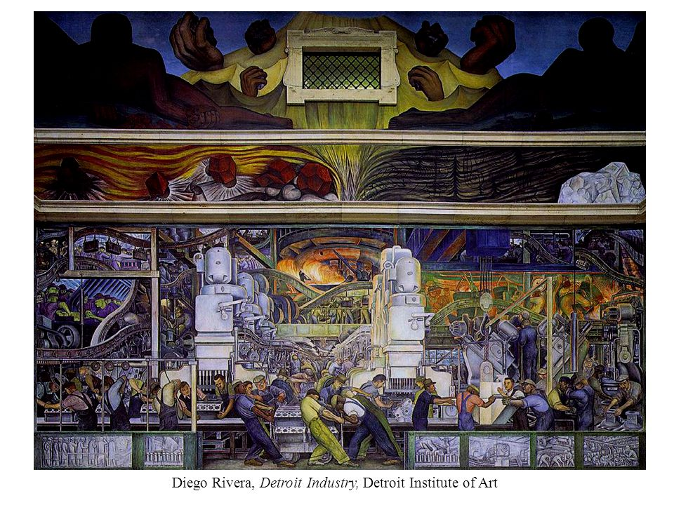 Diego Rivera, Detroit Industry, Detroit Institute of Art