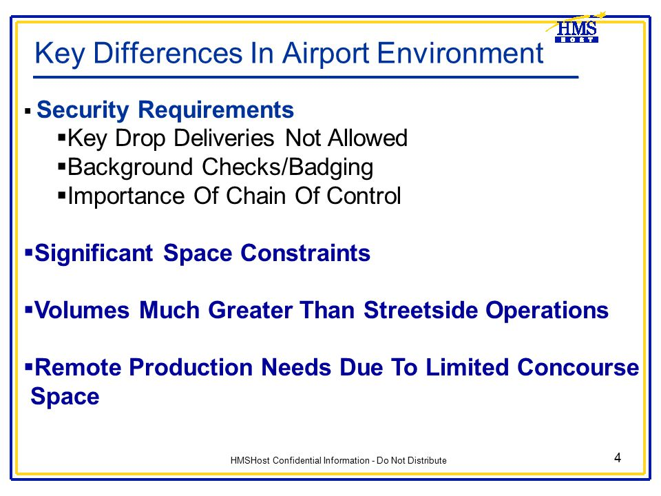 Key Differences In Airport Environment