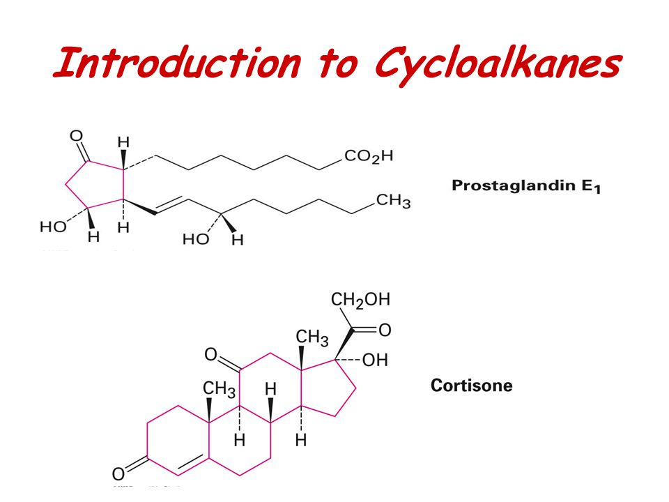 Introduction to Cycloalkanes