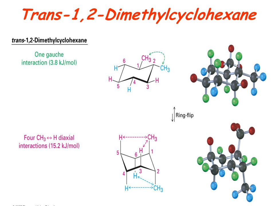 Trans-1,2-Dimethylcyclohexane