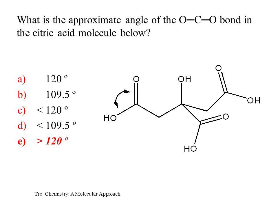 Tro Chemistry: A Molecular Approach