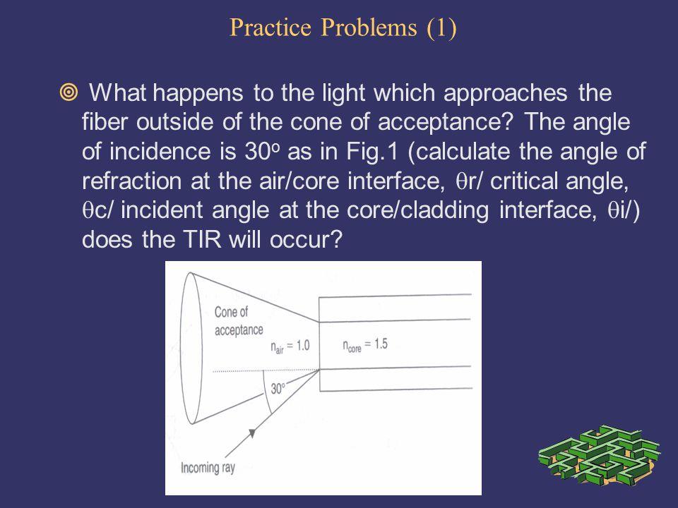 Practice Problems (1)