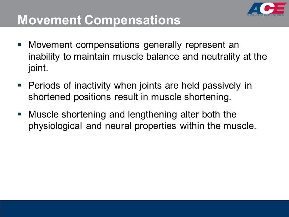 Movement Compensations
