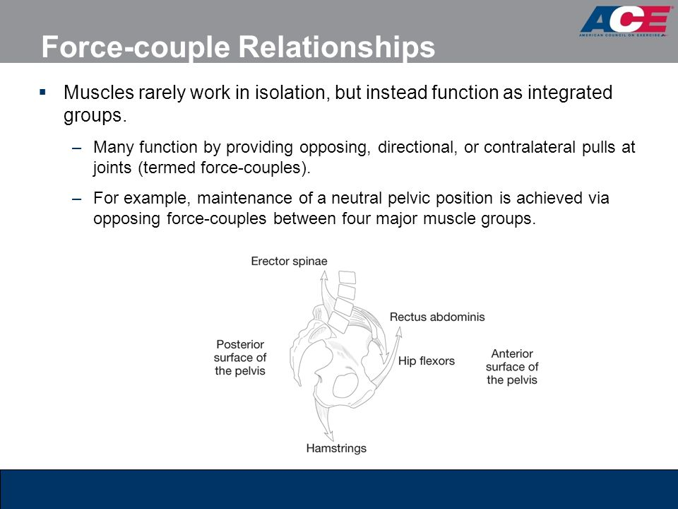 Force-couple Relationships