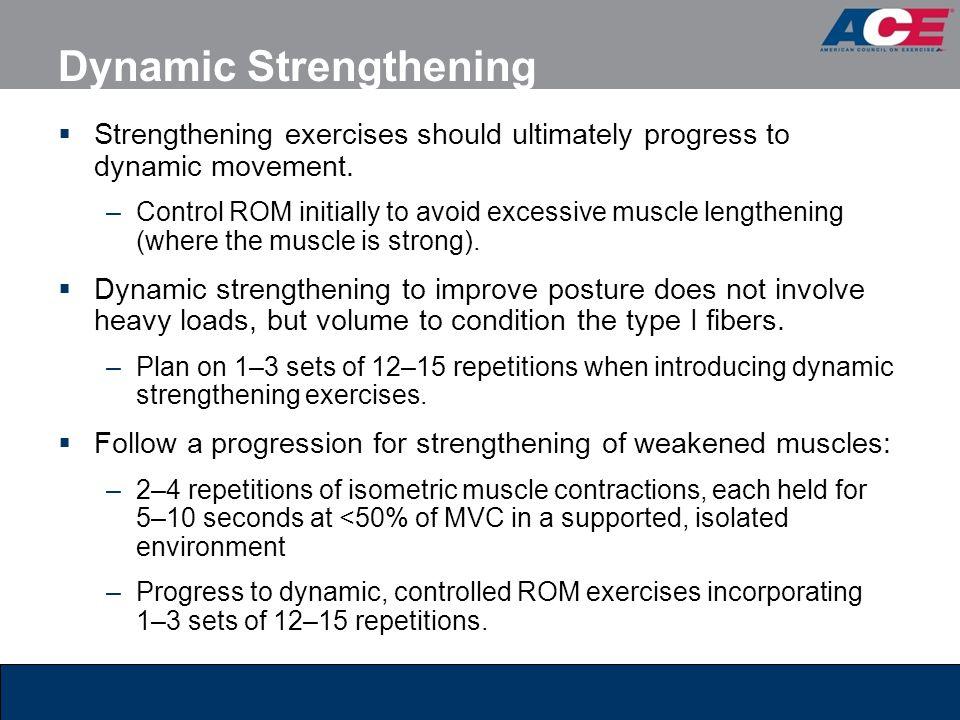 Dynamic Strengthening