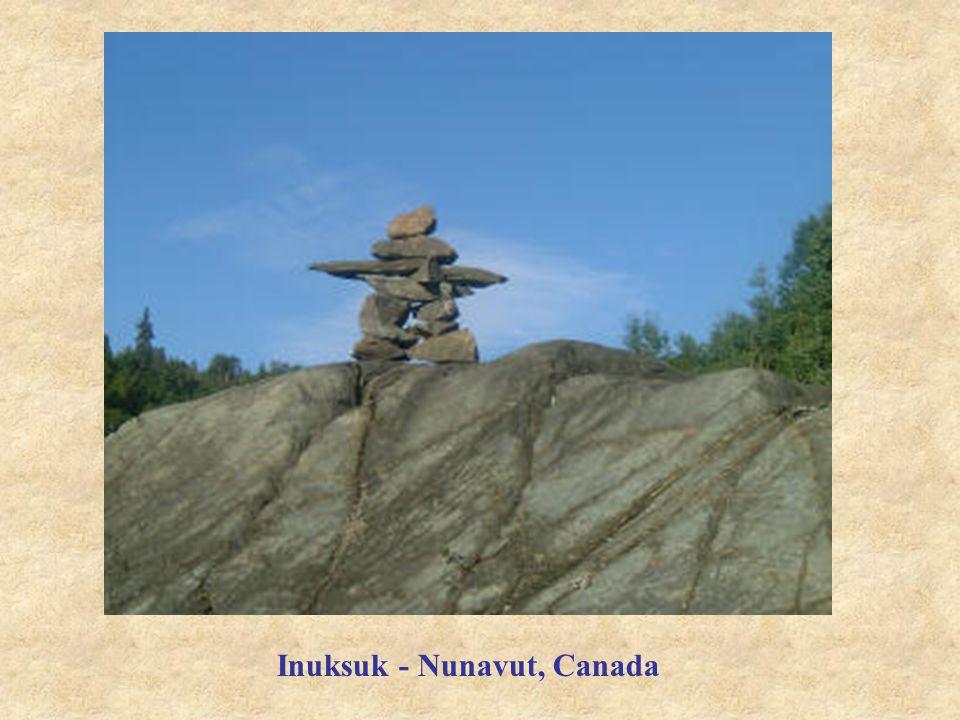 Inuksuk - Nunavut, Canada