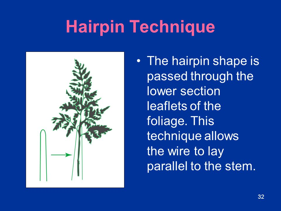 Hairpin Technique