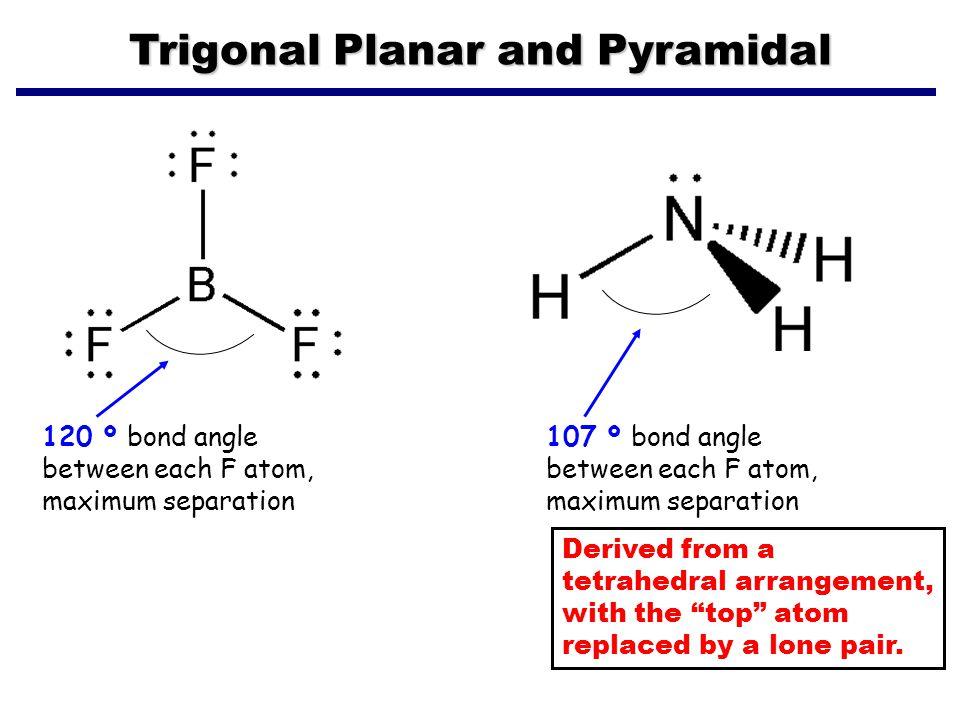 Trigonal Planar and Pyramidal