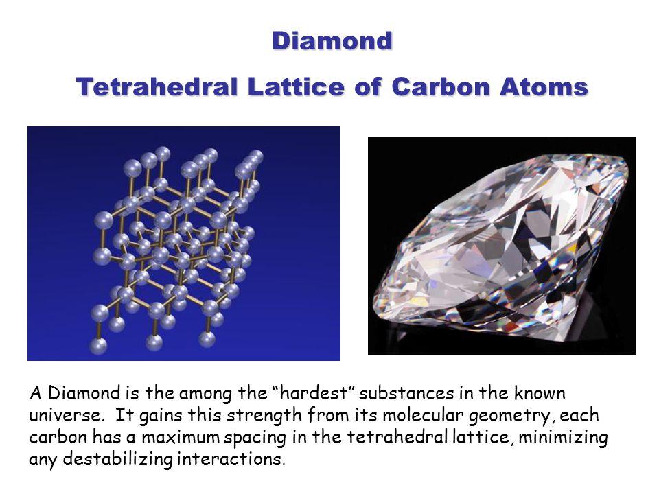 Tetrahedral Lattice of Carbon Atoms