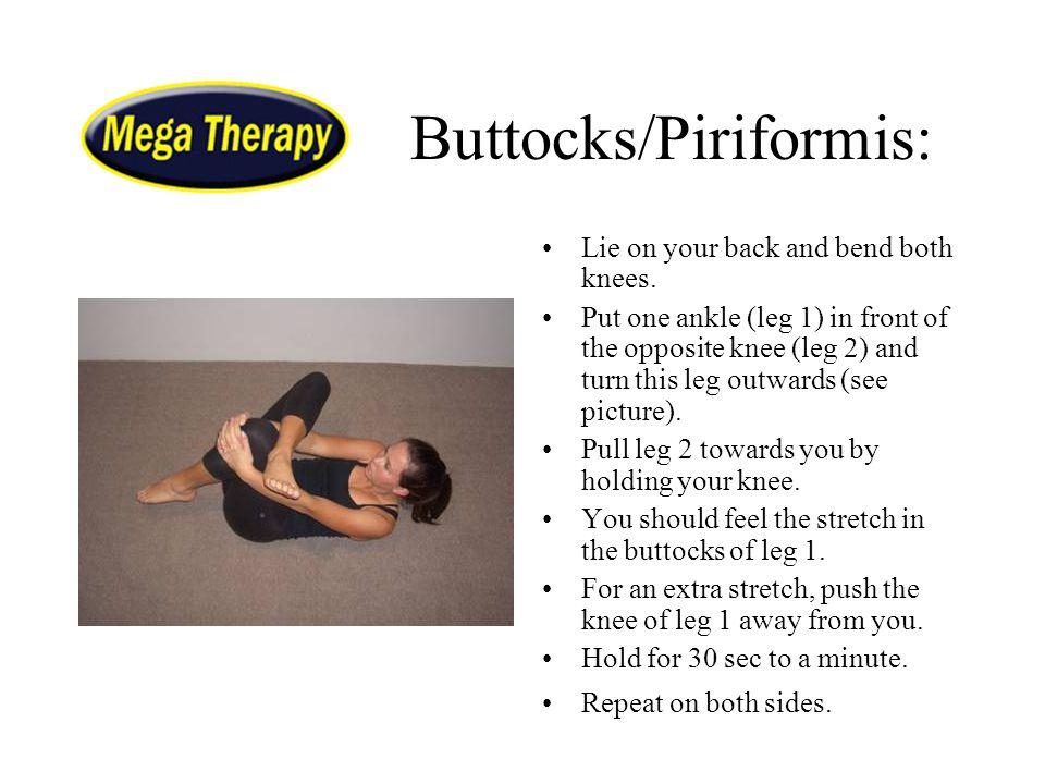 Buttocks/Piriformis: