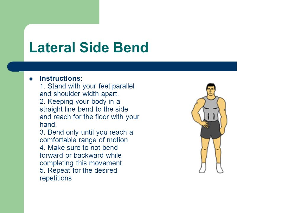 Lateral Side Bend