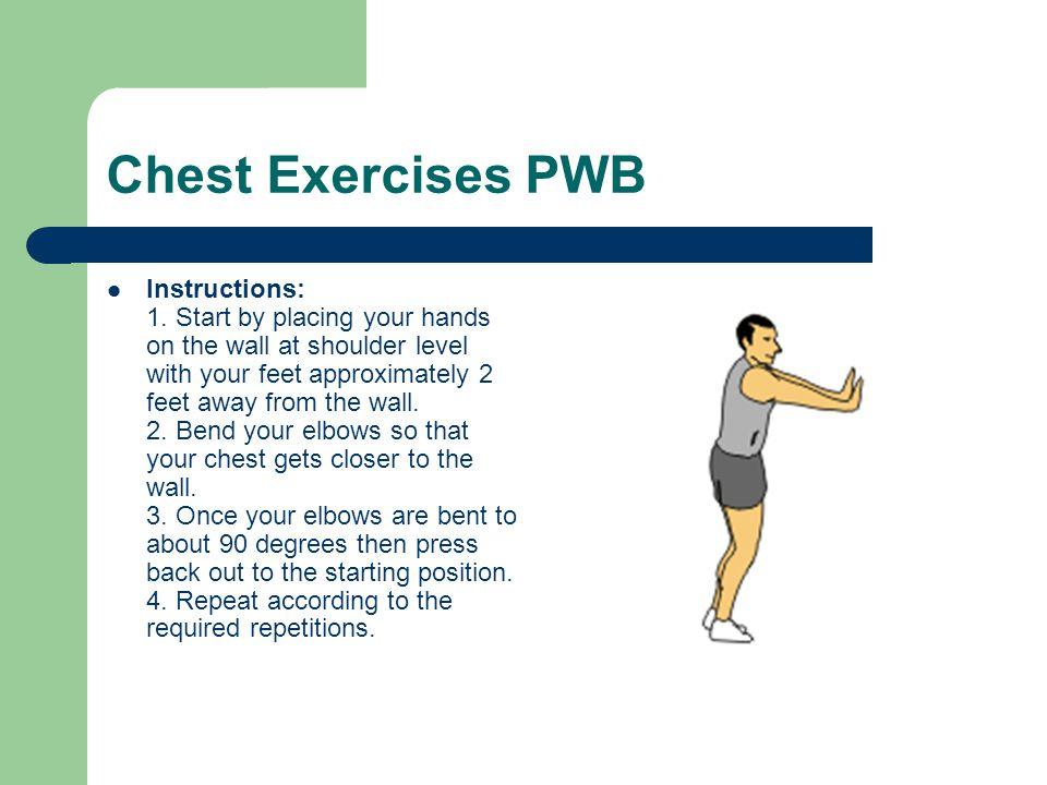 Chest Exercises PWB