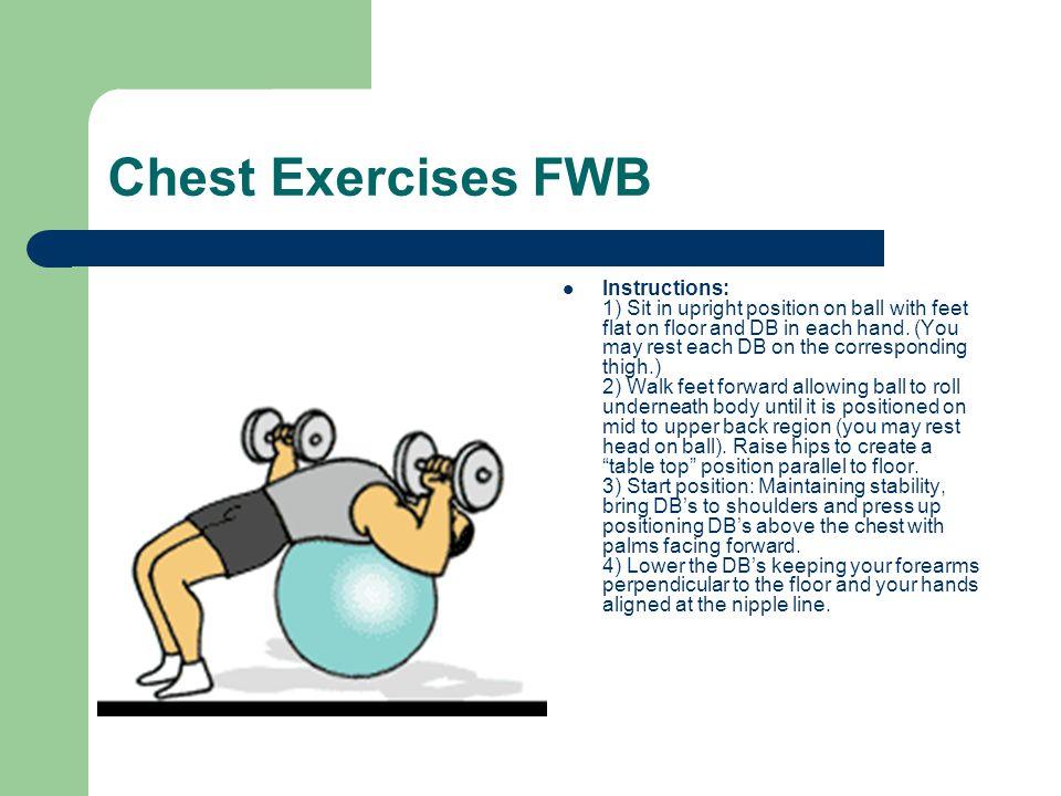 Chest Exercises FWB