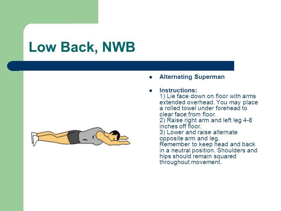 Low Back, NWB Alternating Superman