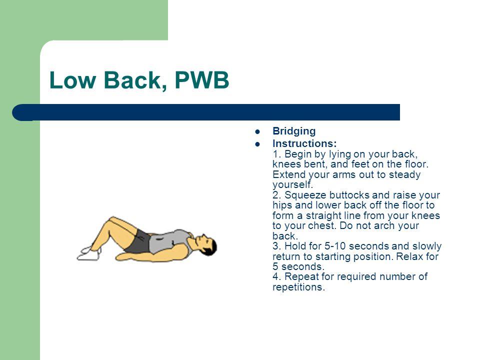 Low Back, PWB Bridging.