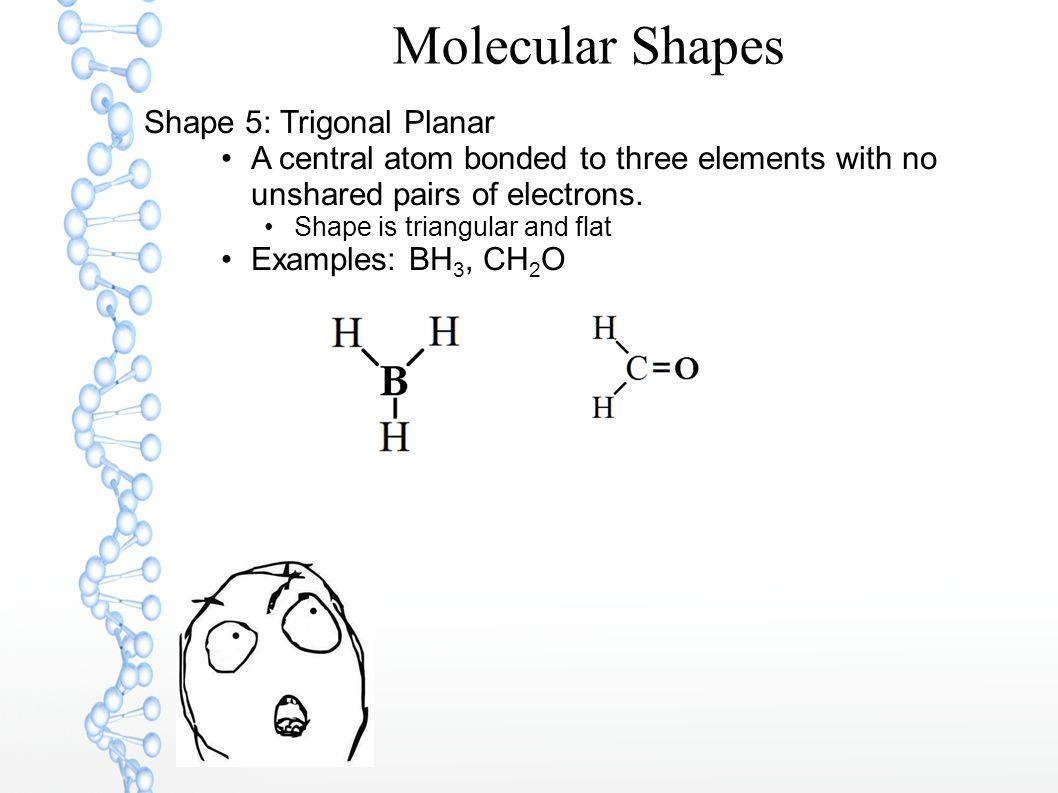 Molecular Shapes Shape 5: Trigonal Planar
