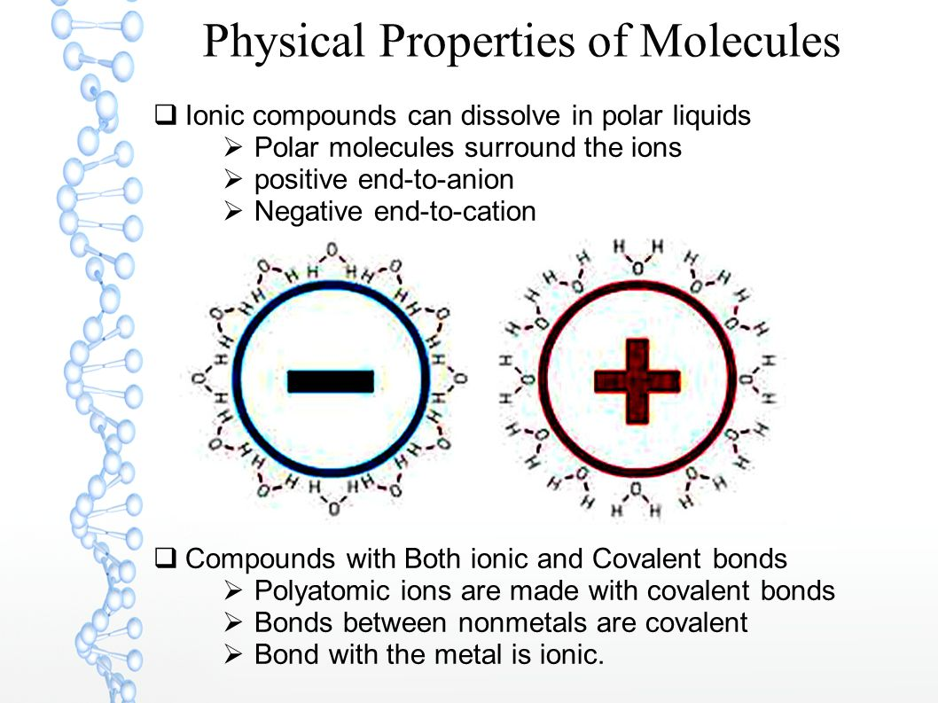 Physical Properties of Molecules